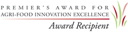Premier's Award or Agri-Food Innovation Excellence - Award Recipient